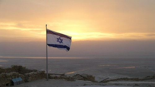 israel sunset