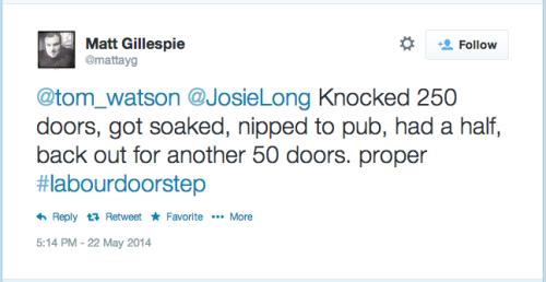 Matt Gillespie tweet tower hamlets