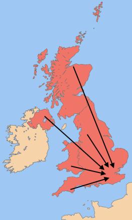 UK centralised power London devolution