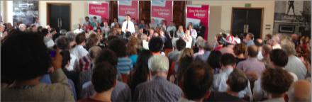 Ed Miliband RIBA The Choice