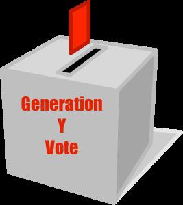 Generation Y vote
