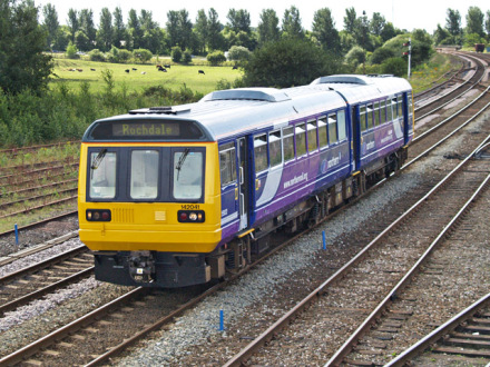 Northern Rail train railways