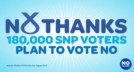 Better Together SNP voters
