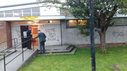 Vote yes or else intimidation scottish referendum
