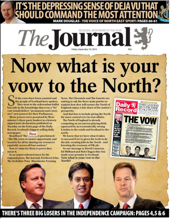 Journal front page