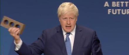 Boris Johnson brick