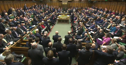 Parliament Commons PMQs