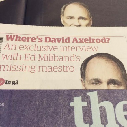 David Axelrod in Guardian