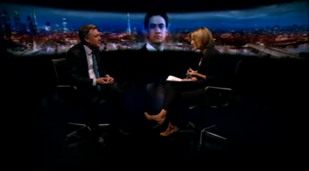 Ed Balls on Newsnight