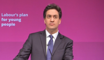 Ed Miliband tuition fees pledge