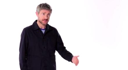 Martin Freeman election broadcast