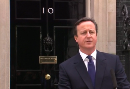 David Cameron Downing St Number 10