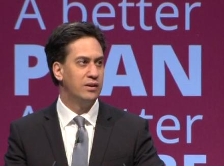 Ed Miliband manifesto launch