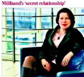 Telegraph Miliband Love Life