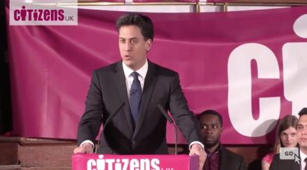 Ed Miliband Citizens UK