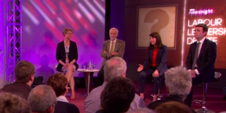 Labour leadership candidates debate