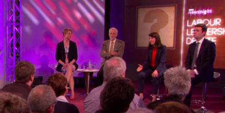 Labour leadership candidates debate