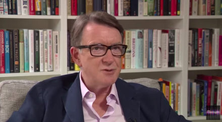 Peter Mandelson Newsnight