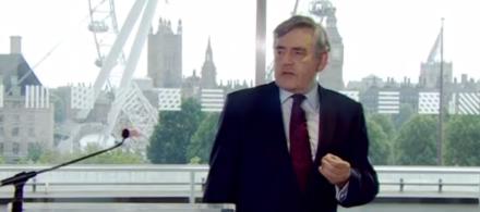 Gordon Brown power for a purpose