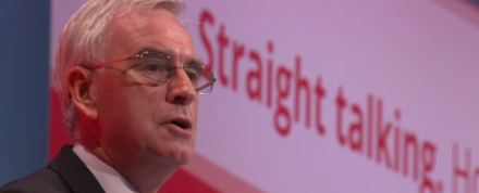John McDonnell straight talking