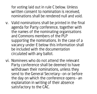 rulebook clause ii part 2