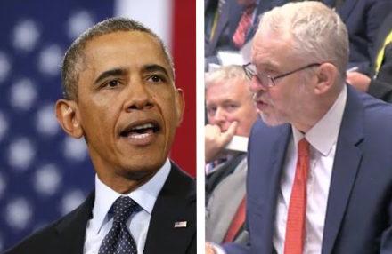 Corbyn Obama