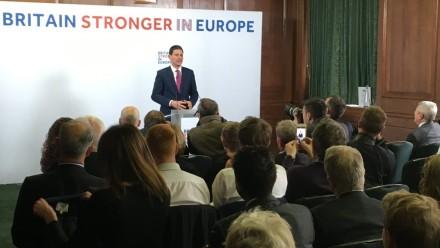 David Miliband EU