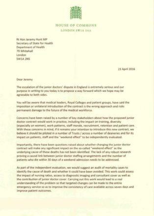 Heidi Alexander letter 1