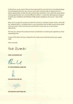 Heidi Alexander letter 2