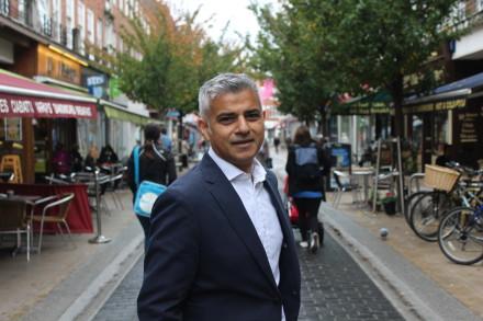 Sadiq Khan headshot