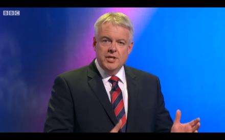 Carwyn Jones BBC Welsh debate