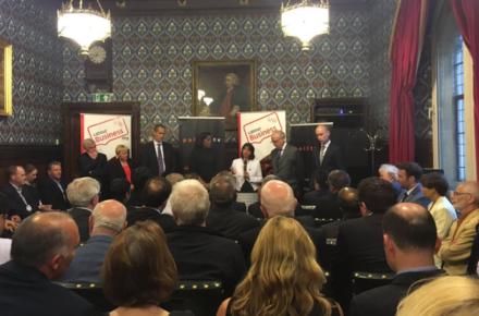 Labour Business, Stephen Kinnock Seema Malhotra Hamish Sanderson