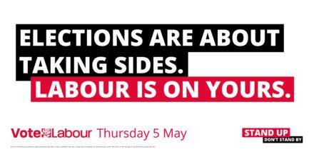 Labour election poster