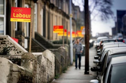 Labour doorstep vote elections