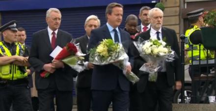 Corbyn Cameron - Jo Cox memorial