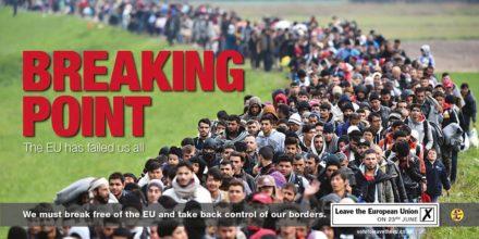 UKIP poster refugees