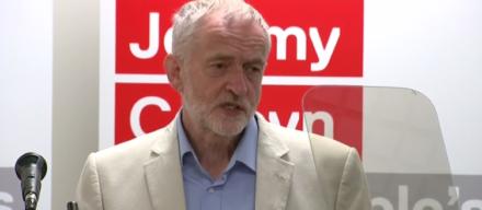 Jeremy Corbyn leadership contest