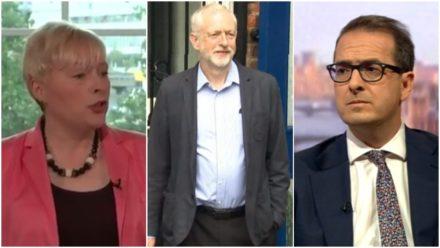 Eagle Corbyn Smith Leadership contenders