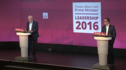 Jeremy Corbyn Owen Smith leadership hustings debate