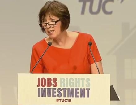 Frances O'Grady 2016 TUC