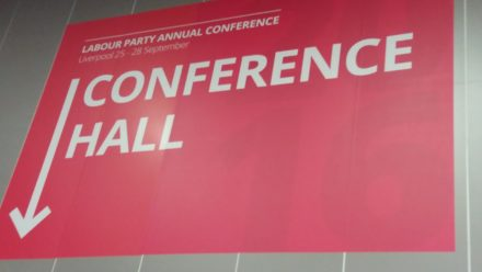 labour-conference-hall-sign