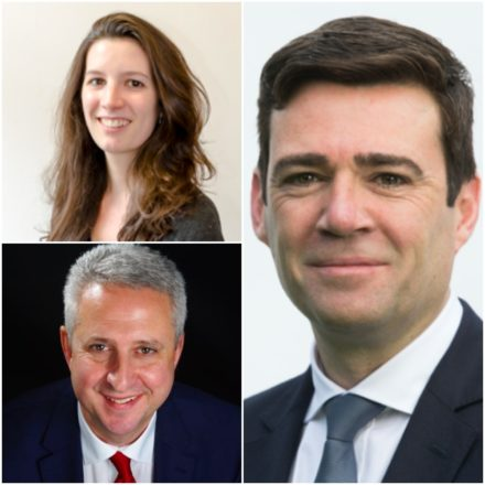 Beth Knowles Ivan Lewis and Andy Burnham composite