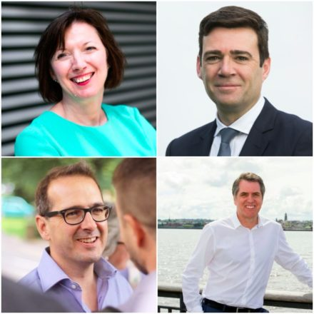 Frances O'Grady Andy Burnham Steve Rotheram Owen Smith composite image