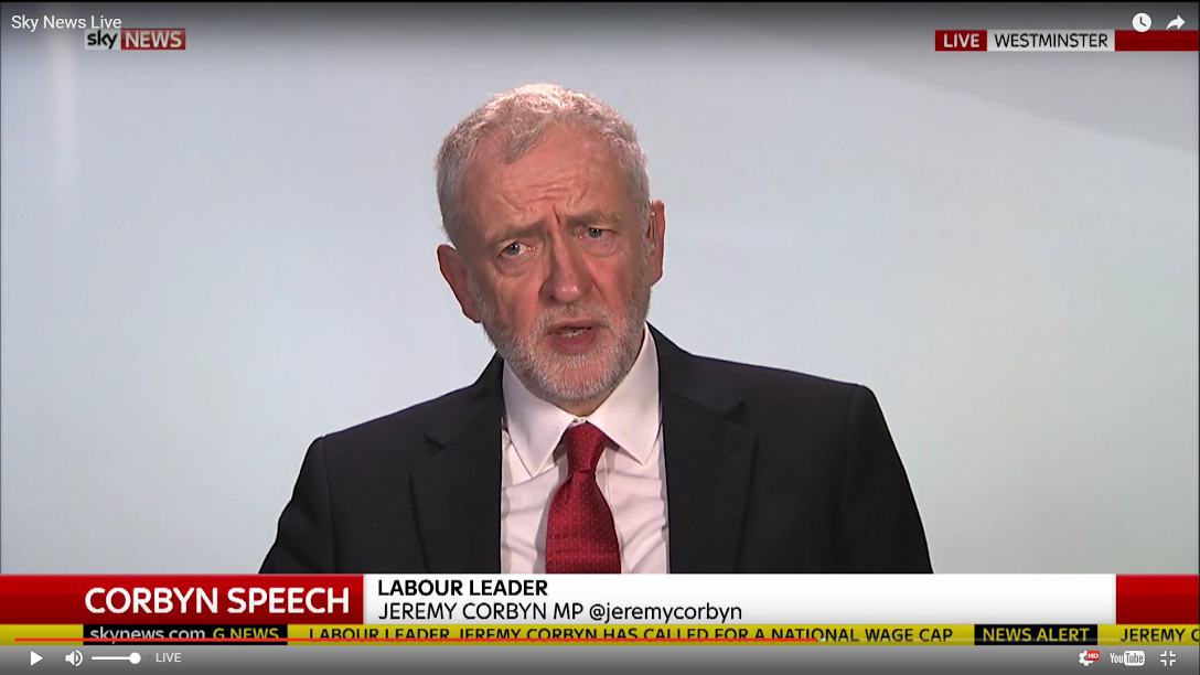 Corbyn goes to war against right-wing
