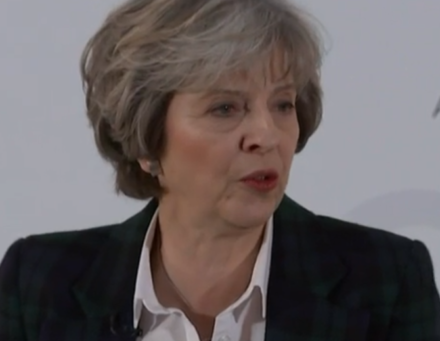 Theresa May a global Britain Brexit speech