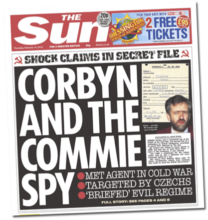 Jeremy Corbyn accused of being 'paid informant of Communist spies'