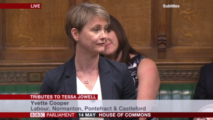 Theresa May pays tribute to Tessa Jowell's 'compassion and determination'