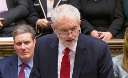 Jeremy Corbyn tables motion of no confidence in British PM Theresa May