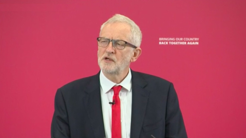 Labour would back Remain in new Brexit vote: Corbyn READ MORE