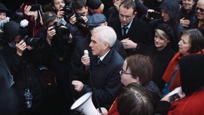 UK Labour's finance chief McDonnell to step down after election defeat